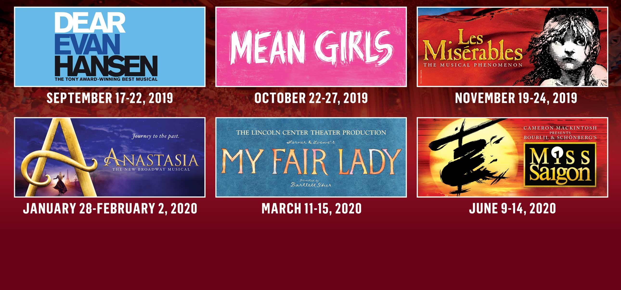 2019/20 Broadway in Columbus Season | Columbus Association
