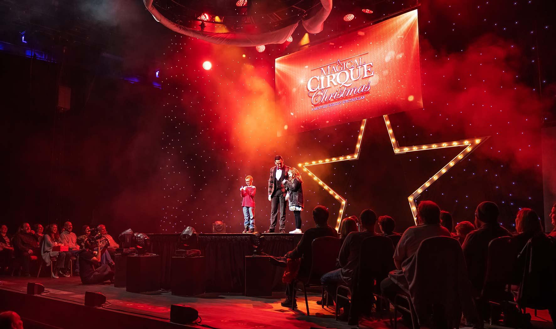 A Magical Cirque Christmas.A Magical Cirque Christmas Columbus Association For The