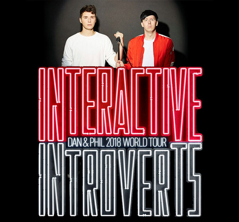 Youtube Stars Dan And Phil Bring Interactive Introverts To