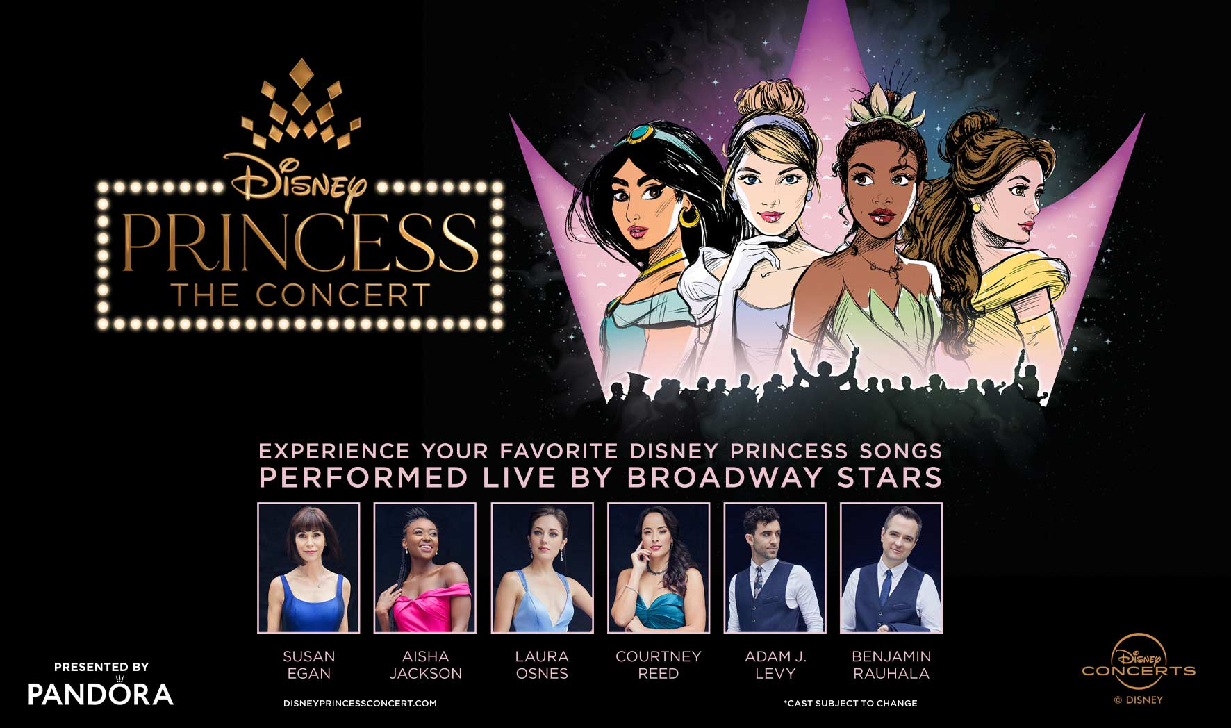 Pandora Presents Disney Princess - The Concert
