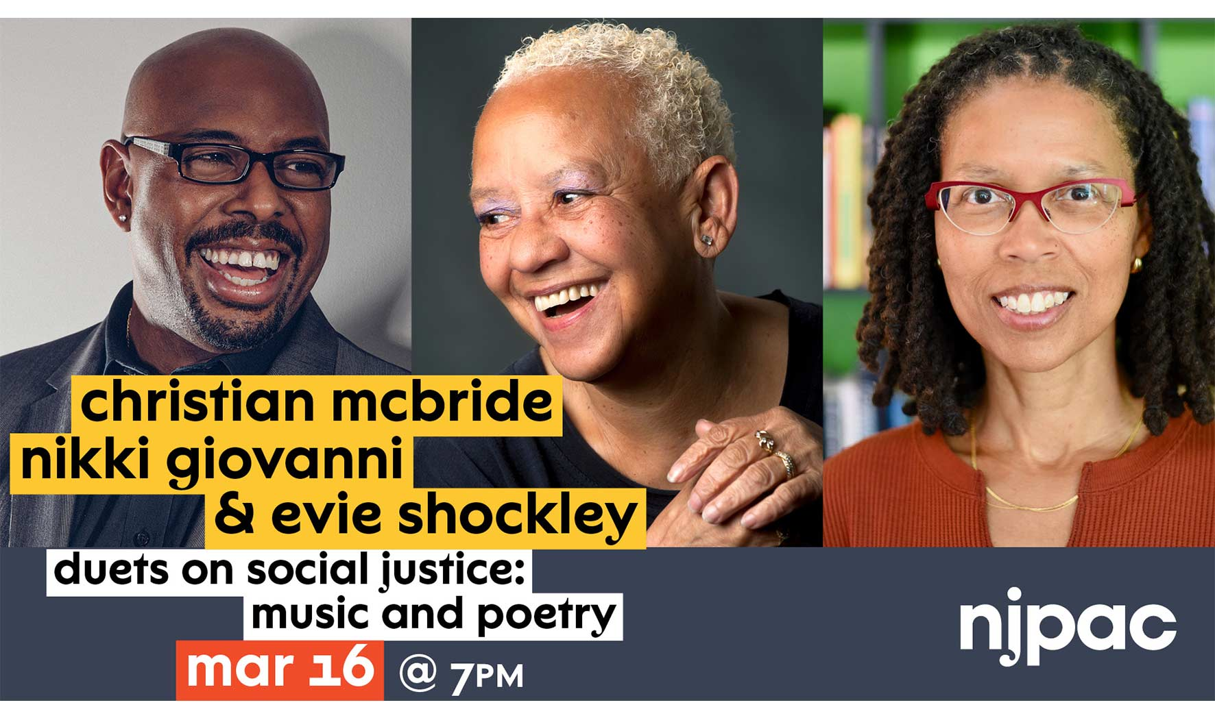 Duets on Social Justice: Music and Poetry