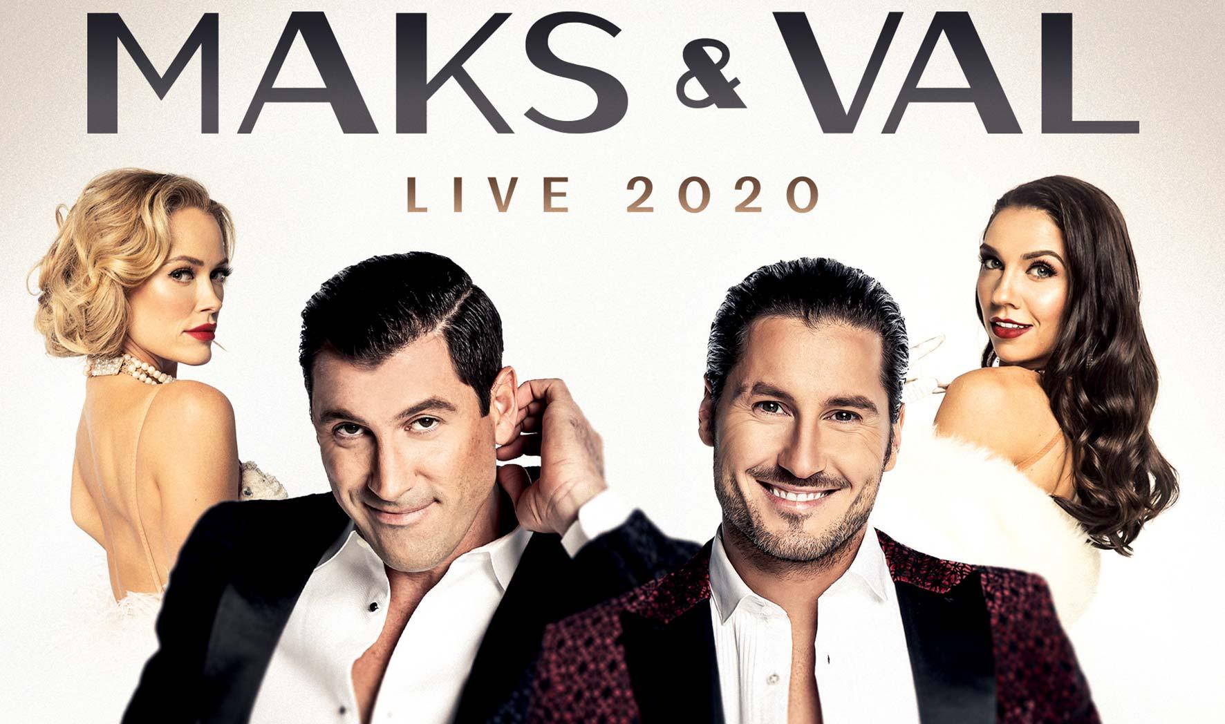 MAKS & VAL LIVE 2020 - Featuring Peta & Jenna