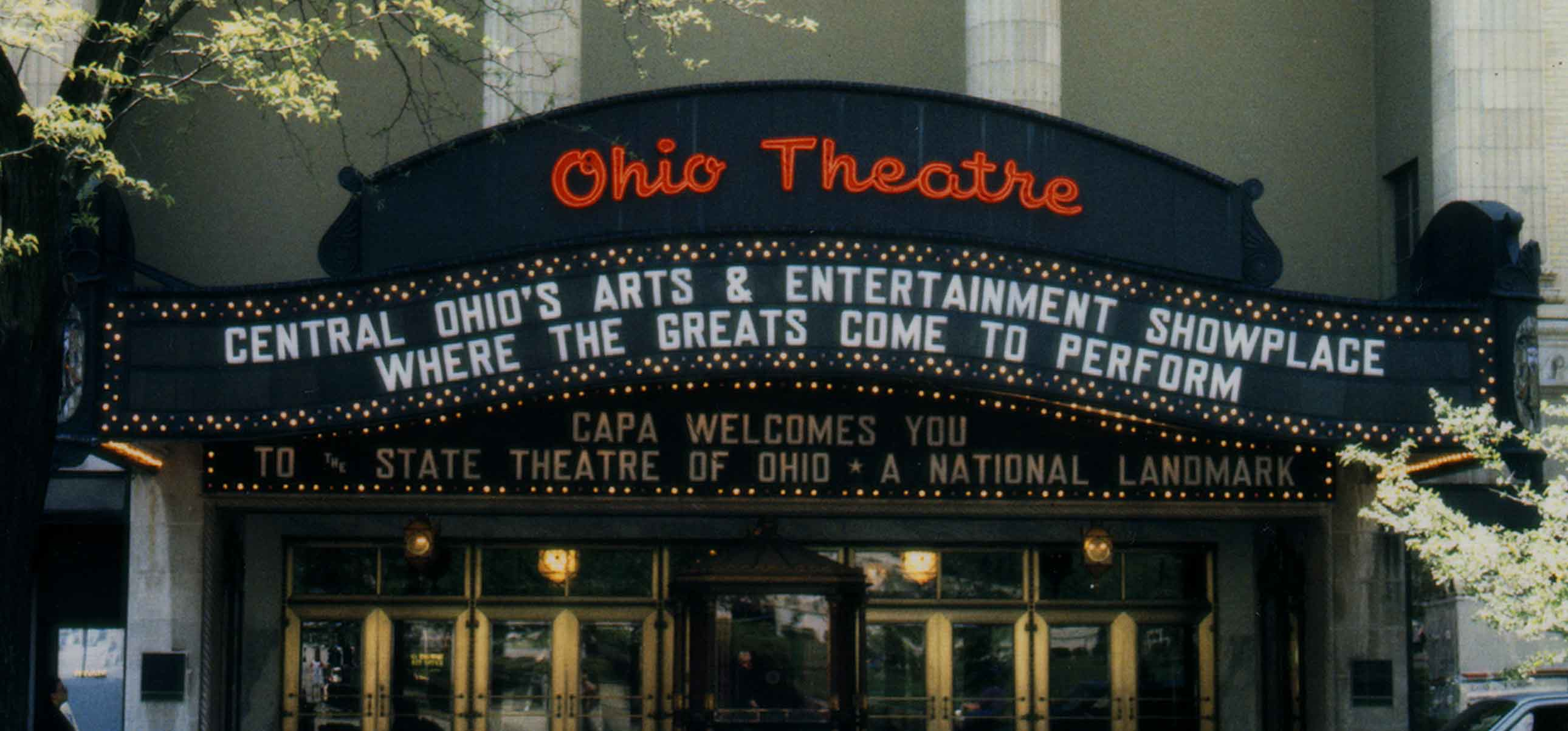 Ohio Theatre Columbus Association For The Performing Arts