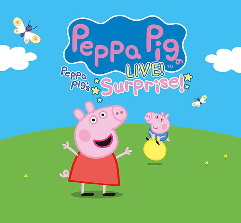 Peppa Pig Live Columbus Association For The Performing Arts